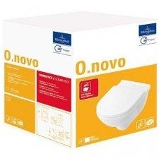Villeroy&Boch pakabinamas WC su dangčiu Softclose O.Novo 5660H101