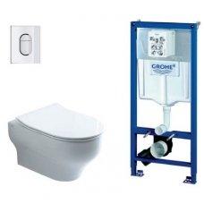 Olympia potinkinis WC komplektas KOMP-GROHE