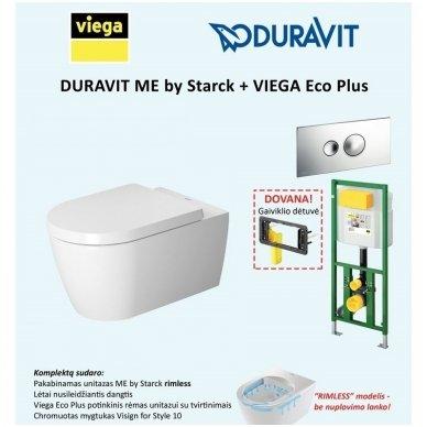Viega potinkinis WC komplektas KOMP-VIEGA6