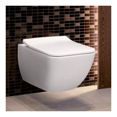 Villeroy&Boch pakabinamas WC su dangčiu Venticello