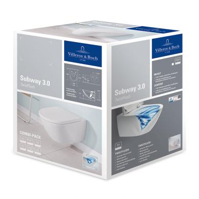 Villeroy&Boch pakabinamas WC Subway 3.0 TwistFlush 2