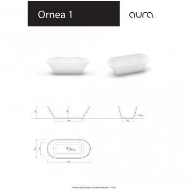 Vispool-Aura baldinis praustuvas Ornea 1 3