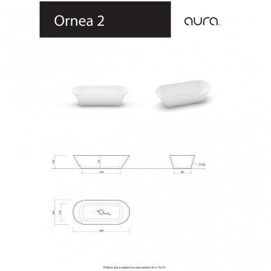 Vispool-Aura baldinis praustuvas Ornea 2 3