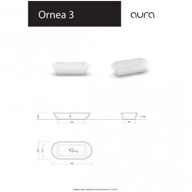 Vispool-Aura baldinis praustuvas Ornea 3 3