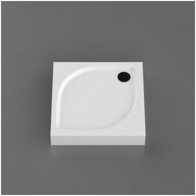 Vispool kvadratinis dušo padėklas KK-80