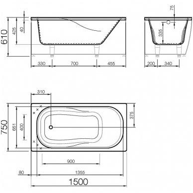 Vispool vonia Classica 150 7